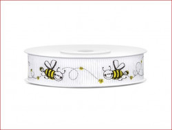 wstążka rypsowa pszczółki rolka 10 m