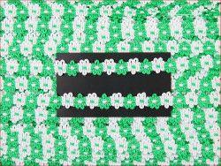 taśma FIORE zielona