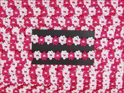 taśma FIORE różowa