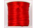 wstążka satynowa szer.3mm czerwona