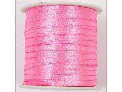 wstążka satynowa szer.3mm różowa