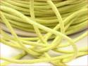 sznurek bawełniany woskowany 2mm limonkowy