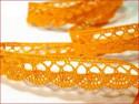 koronka bawełniana 18 mm żółta