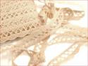 koronka bawełniana 18 mm naturalna