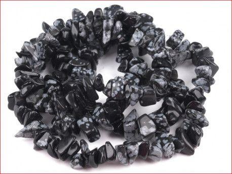 sieczka minerałów - obsydian