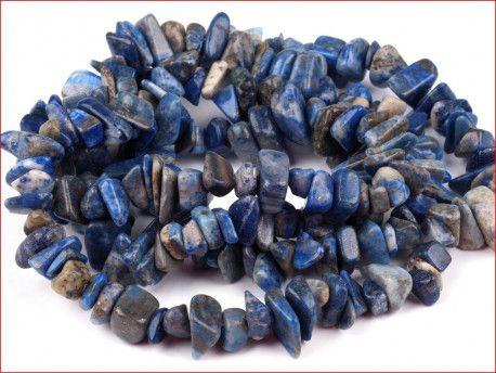 sieczka minerałów - sodalit