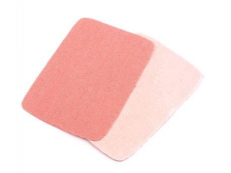 łatki termoprzylepne JEANS różowe 5,3x7,9cm