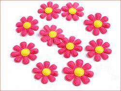 Aplikacja kwiatek różowy
