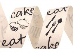 wstążka bawełniana CAKE