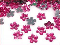 kwiatki amarantowe
