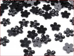 kwiatki czarne