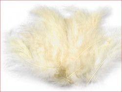 strusie pióra 12-17 cm ecru