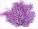 strusie pióra 12-17 cm liliowe