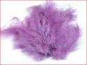 strusie pióra 9-16 cm liliowe