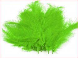 strusie pióra 9-16 cm seledynowe