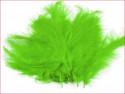 strusie pióra 12-17 cm seledynowe