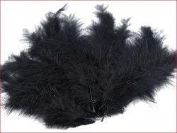 strusie pióra 9-16 cm czarne