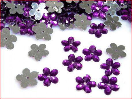 kwiatki fioletowe