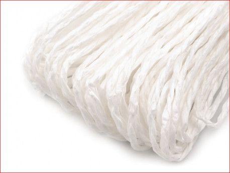 sznurek papierowy biały