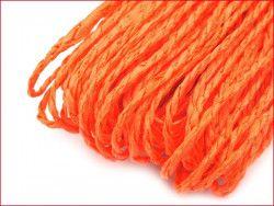 sznurek papierowy pomarańczowy