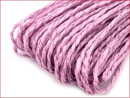 sznurek papierowy fioletowy