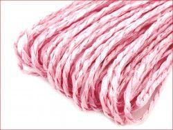 sznurek papierowy różowy