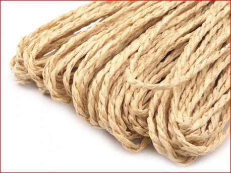 sznurek papierowy beżowy