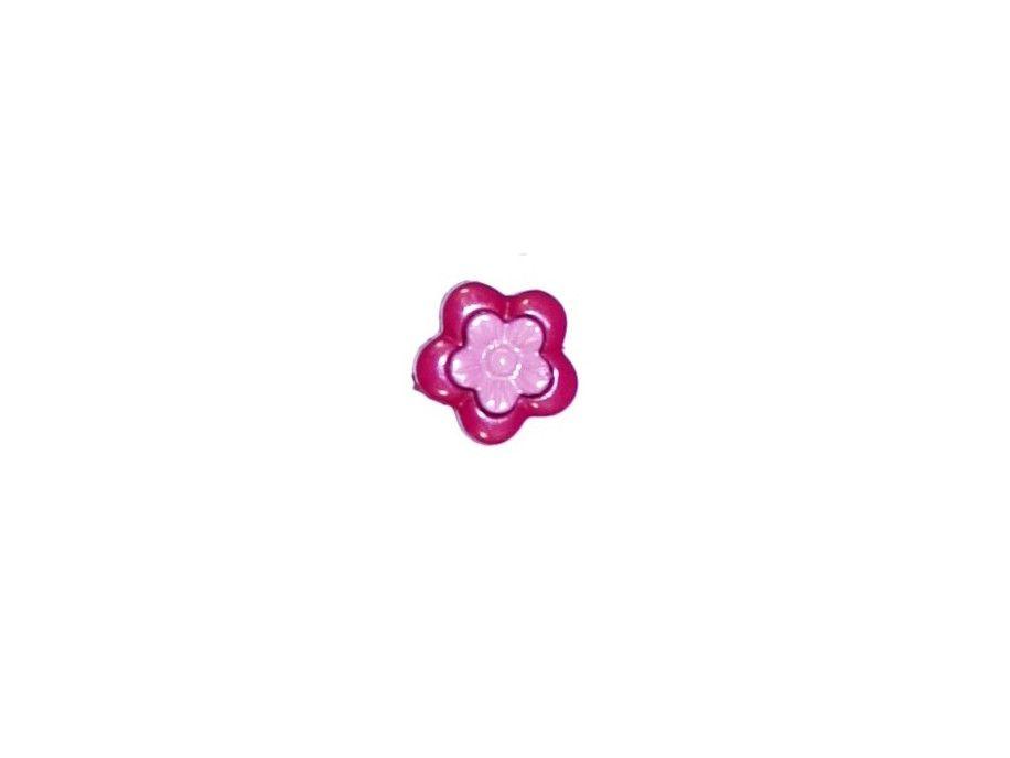Guziczek dziecięcy kwiatek