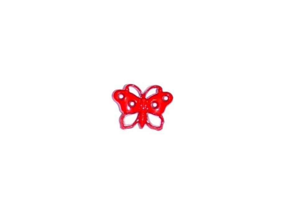 Guziczek dziecięcy motyl