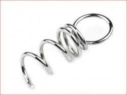 zawieszka wkręcana do produktów styropianowych srebrna