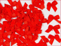 Kokardki satynowe czerwone
