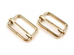 regulator metalowy złoty