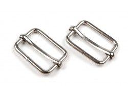 regulator metalowy srebrny