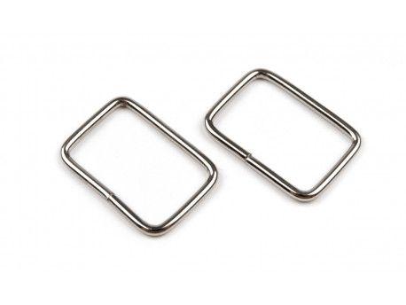 ramka metalowa srebrna