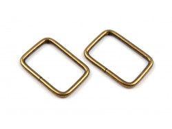 ramka metalowa złota
