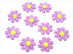 Aplikacja kwiatek liliowy