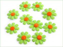 Aplikacja kwiatek zielony