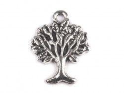 zawieszka metalowa drzewo