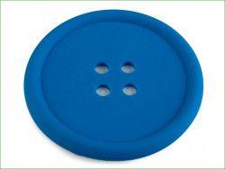 guzik silikonowy-podkładka, ozdoba-chabrowy