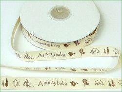 wstążka bawełniana 'a pretty baby'