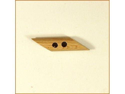 Guzik drewniany kołek ukośny