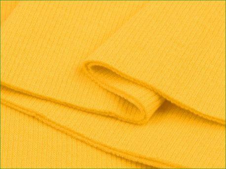 ściągacz elastyczny bawełna żółty