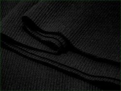 ściągacz elastyczny bawełna czarny