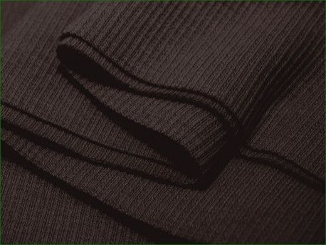 ściągacz elastyczny bawełna brązowy