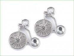 zawieszka metalowa rower