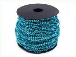 koraliki na sznurku turkusowe