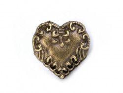 przypinka-pins serce