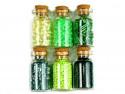 koraliki szklane rokail w butelce-mix10