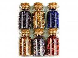 koraliki szklane rokail w butelce-mix18