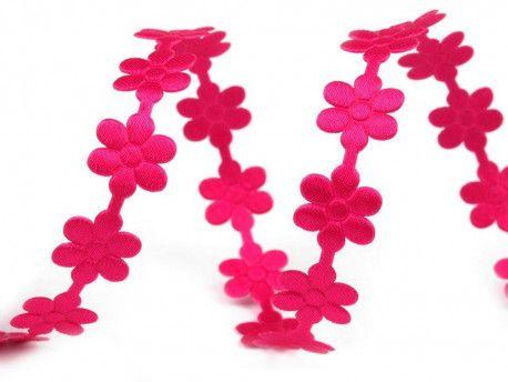 taśma ozdobna kwiatki 10